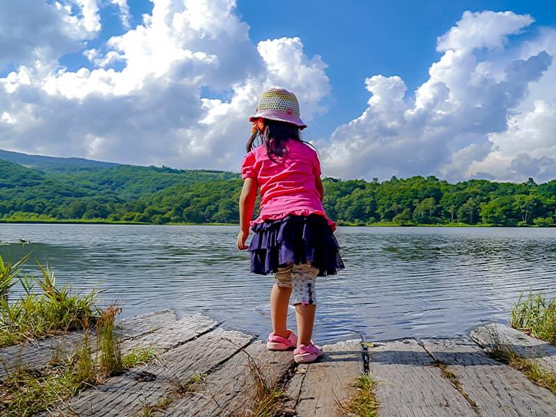 1.バラギ湖