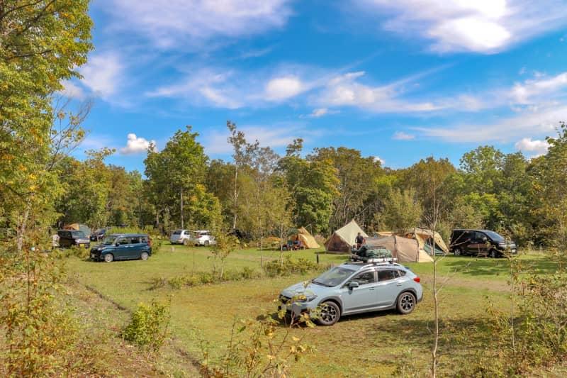 五右衛門風呂が体験できる白滝高原キャンプ場でファミリーキャンプ
