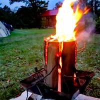 スウェーデントーチで焚火が楽チンになる!?初心者が実際に挑戦してみた