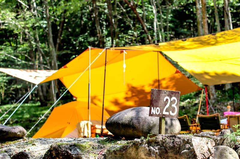 標高900mの避暑地!めいほうキャンプ場の林間サイトで涼しい夏キャンプを体験しました