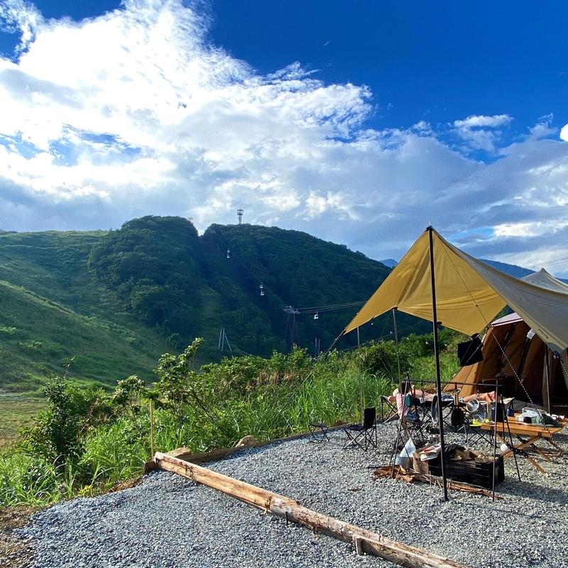 白馬岩岳マウンテンフィールド完全攻略!日本有数のゴンドラで行くキャンプ場!