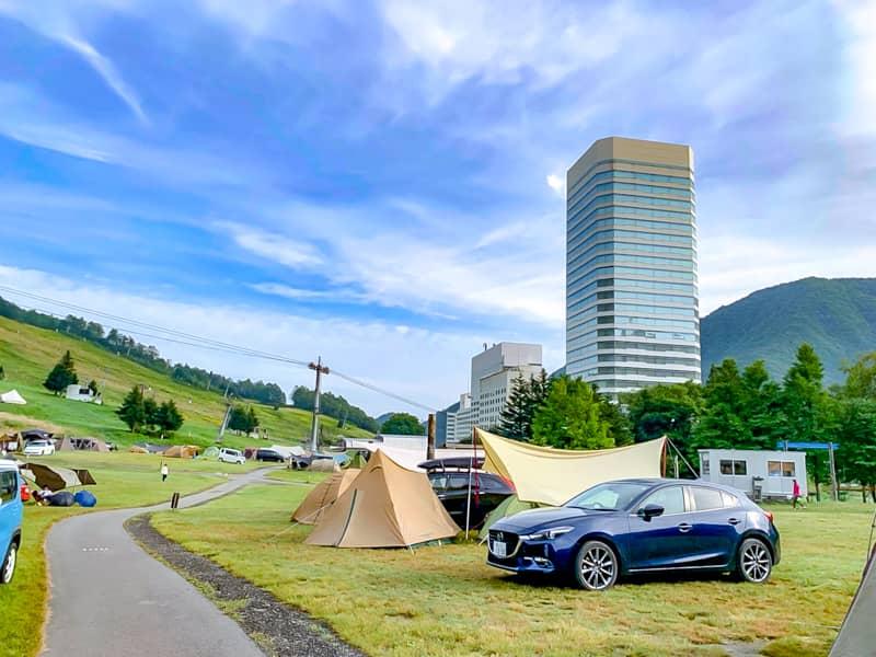 フジロック会場でもある「苗場高原オートキャンプ場」はリゾート感満載のキャンプ場でした