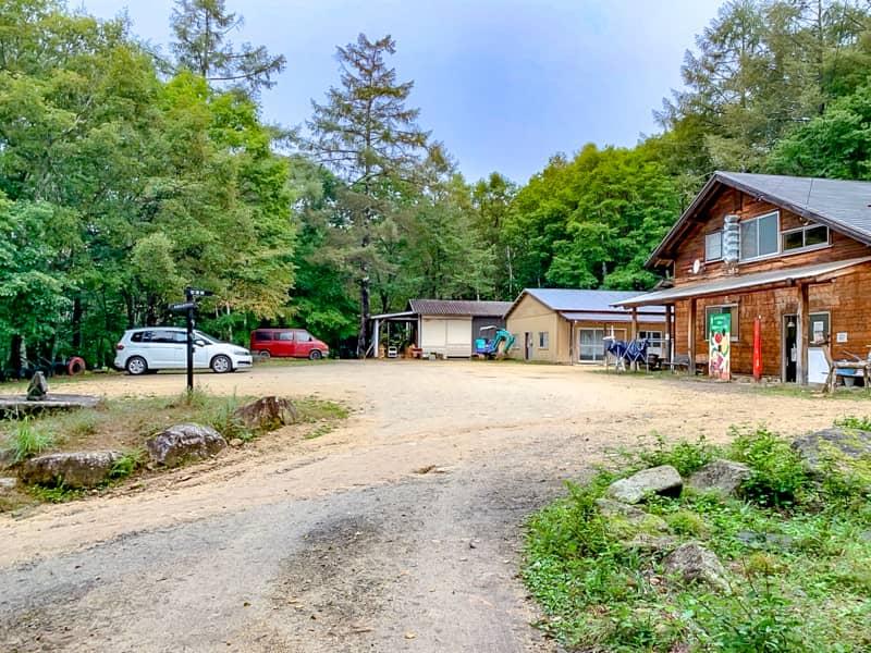 「みずがき山森の農園キャンプ場」の施設案内