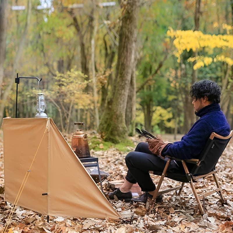 クイックキャンプ-焚火陣幕焔