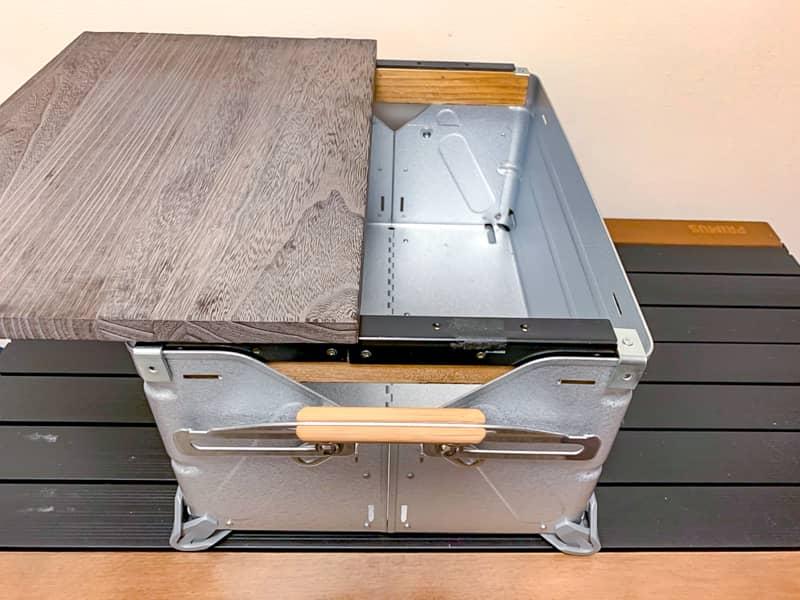 スライド式天板の作り方