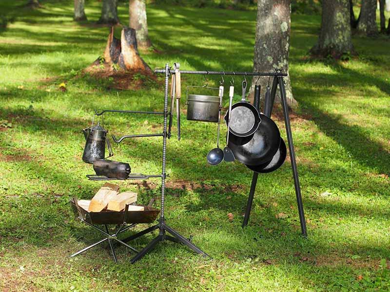 ハンキングの拡張キットと調理器具