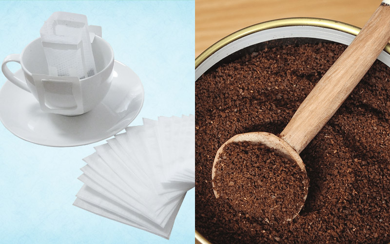 マラウイコーヒーの粉