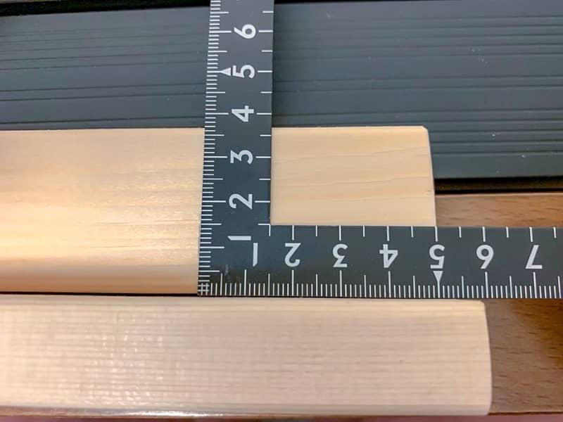 ワンバン材にネオジム磁石を取り付ける