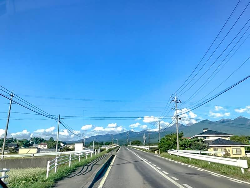 八ヶ岳の雄大な景色