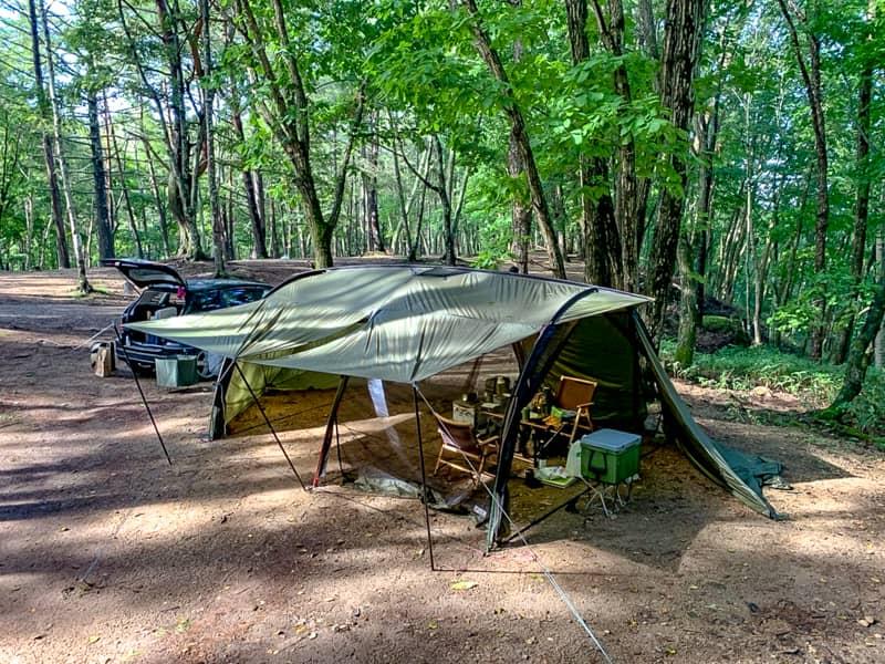 夏は絶対涼しいキャンプ場