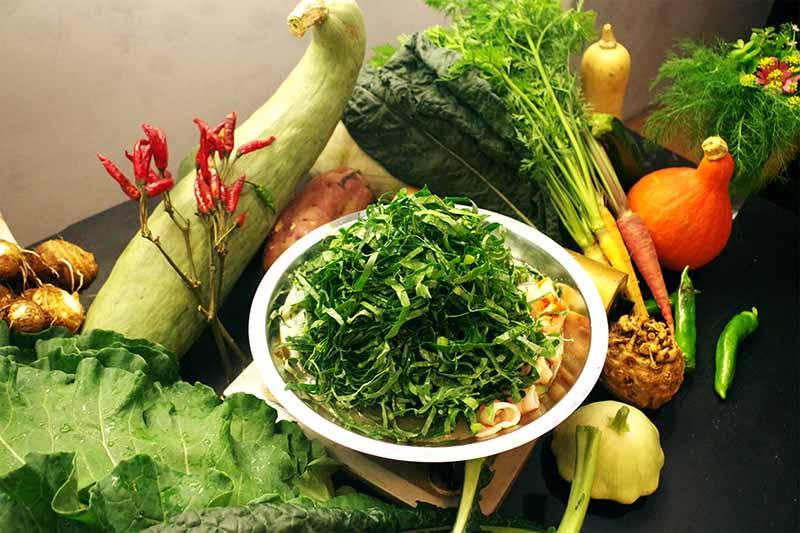 採れたて野菜のキーマカレー