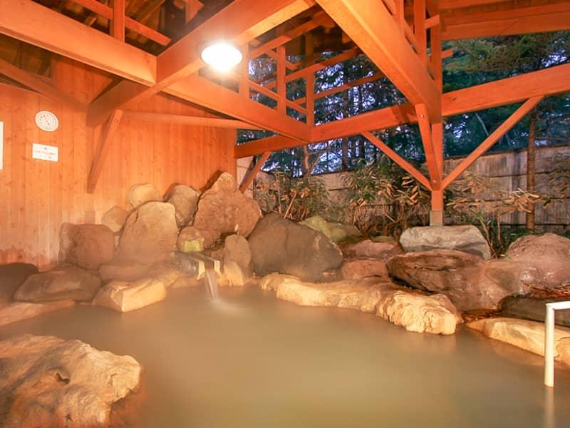 立場川キャンプ場近くの温泉