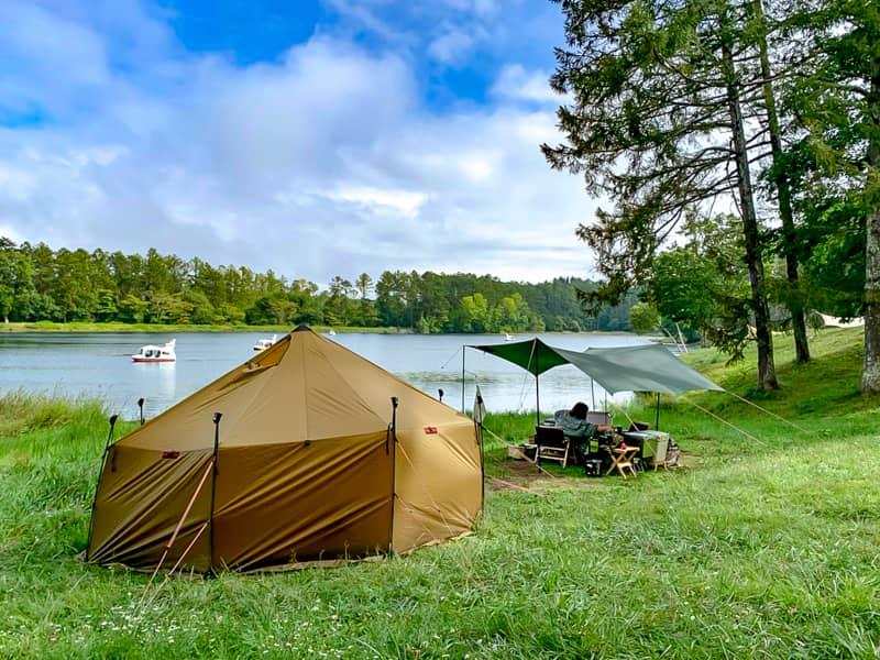 難易度は高いが料金が安いので人気のキャンプ場