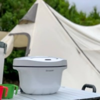 キャンプで自動調理家電「ヘルシオ ホットクック」を使ってみた