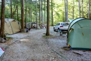 口コミよりも快適だった阿寺渓谷キャンプ場の全サイトレビューと利用時の注意点を紹介