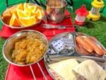 セリアのステンレス皿やカトラリーがキャンプで大活躍♪アウトドア用食器を買ってみた
