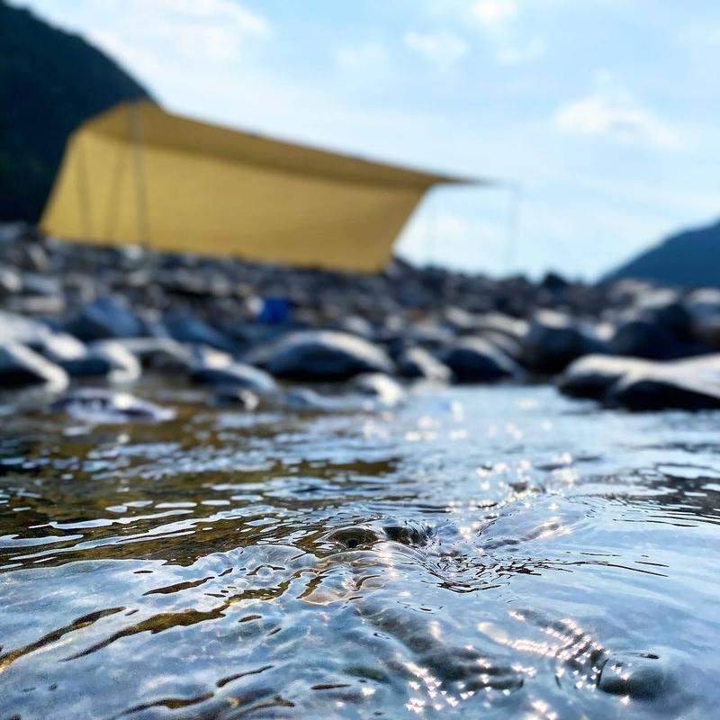 【岐阜】デイキャンプもOK!河原まで車で降りられる穴場&無料の川遊びスポットを発見!