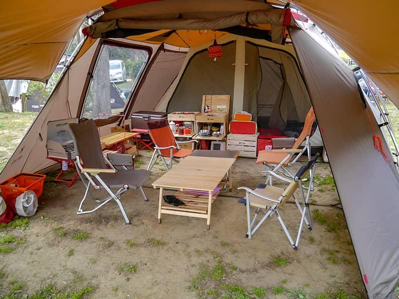 1.テントの当たり前