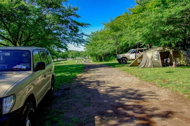 キャンプ場の名前に「ファミリーキャンプ場」が付いている