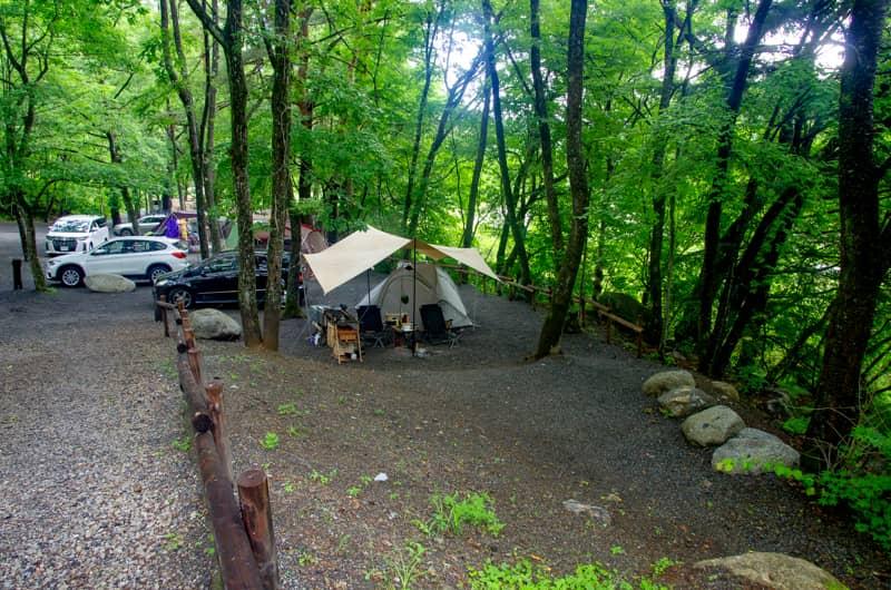 グループキャンプNGのキャンプ場