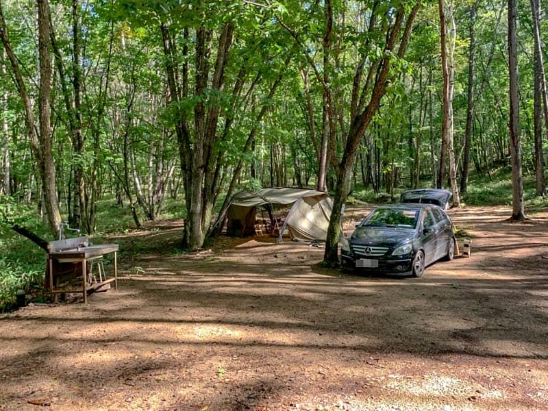 事前決済必須のキャンプ場