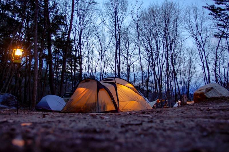 冬キャンプを快適に楽しむ為に