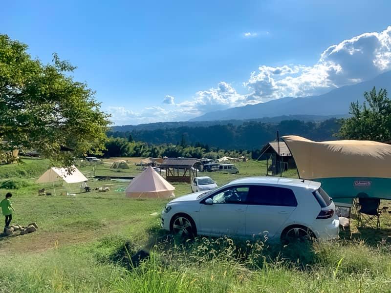 相場より高めのキャンプ場