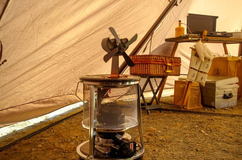 石油ストーブに灯油を入れっぱなしで運ぶ