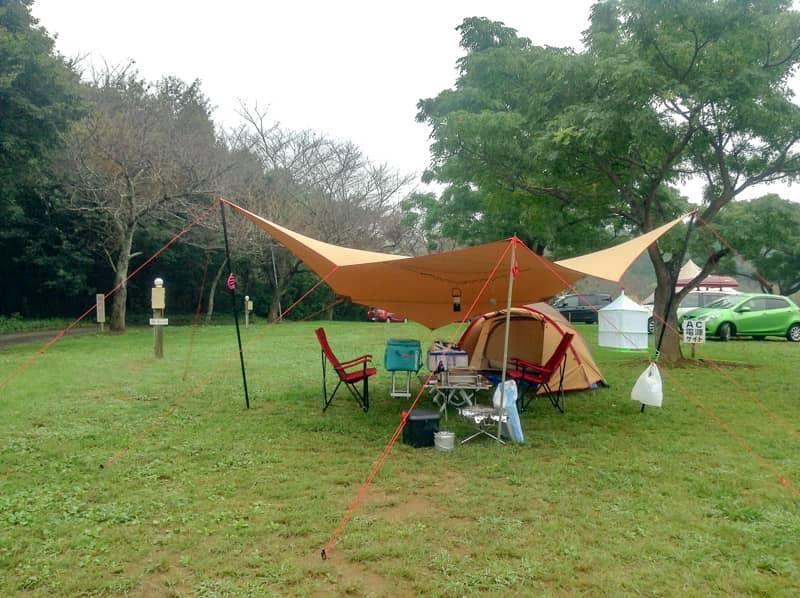 管理人さんが24時間常駐のキャンプ場