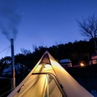 ツインピルツフォークT/Cで1歳児を連れて初めての冬キャンプin薪ストーブしてみた