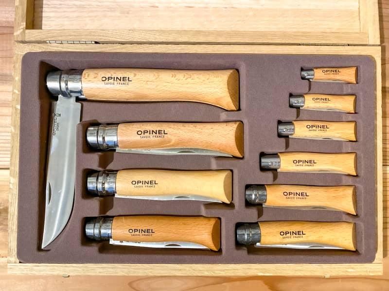 オピネルナイフ全サイズの大きさ比較【おすすめサイズは何番?分解しない方が良い?】