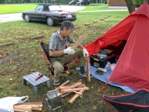 オープンカーで行くキャンプ!宮城県「エコキャンプみちのく」に行ってきました