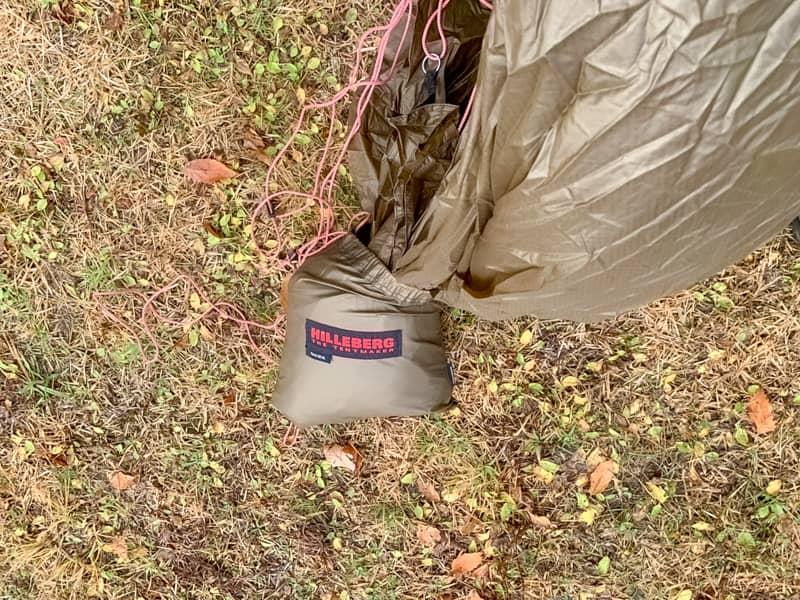 tarp20タープを袋からだしま
