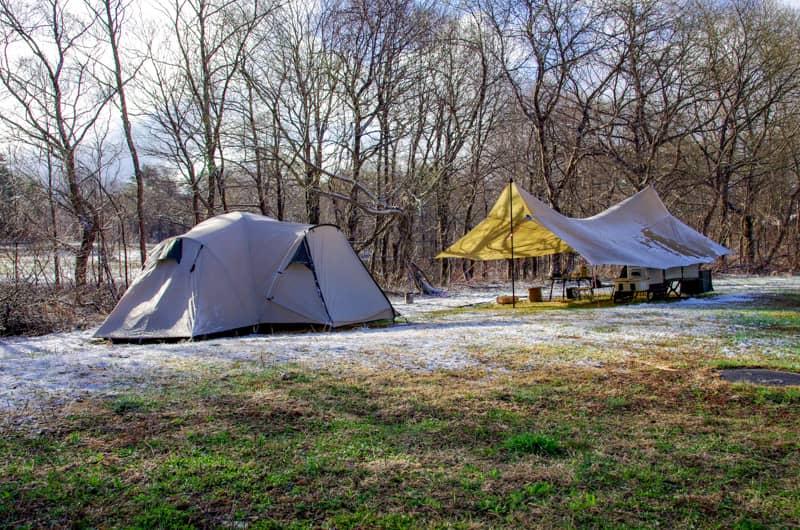 冬キャンプでやってはいけない10の行為