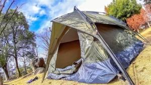 設営&撤収3分!Amazonで買ったYACONEの格安ワンタッチテントが良すぎた!