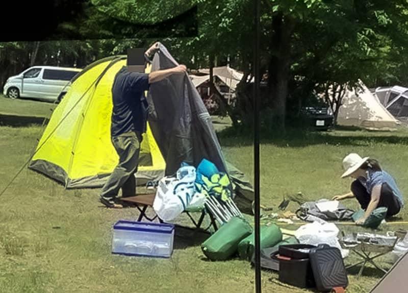 キャンプに興味がなかった友達が突然キャンプを始めた時
