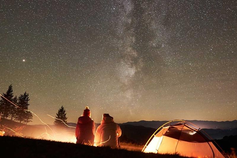 ネスタリゾート神戸の新キャンプサイト「星の広場」が1月16日OPEN!最高の星空を楽しもう