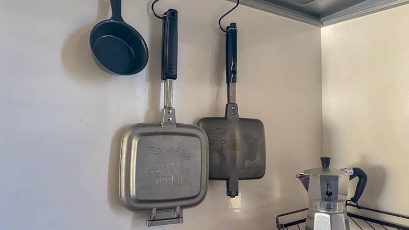 ホットサンドメーカーキッチン