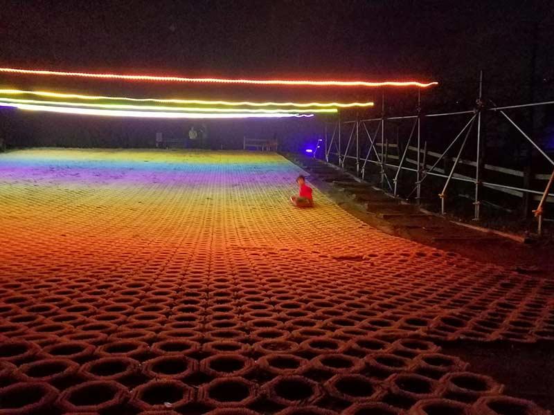 成田ゆめ牧場の滑り台
