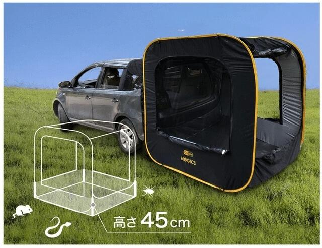 車連結型ポップアップテント「CARSULE」-11