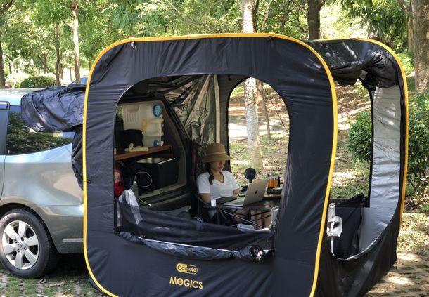 車連結型ポップアップテント「CARSULE」-2