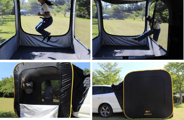 車連結型ポップアップテント「CARSULE」-4