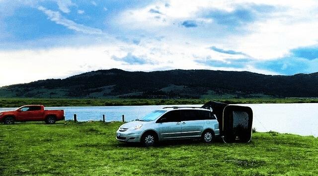車連結型ポップアップテント「CARSULE」-9