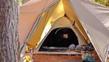 ポップアップテントこそ冬キャンプの必須ギアだった!冬のおすすめファミキャンスタイル