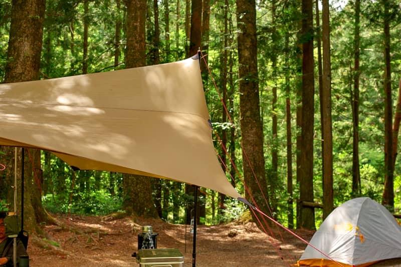 おひとり様で気軽に使える汎用性の高いテント