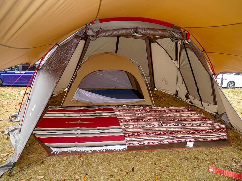 お庭テント-3