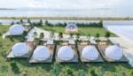 琵琶湖が目の前の絶景グランピング施設『グランドーム滋賀高島』が2021年4月28日オープン!