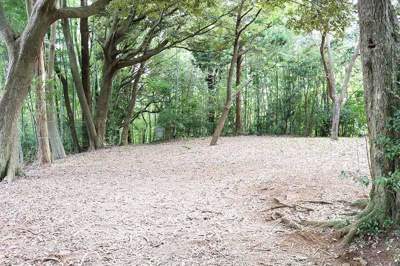 グループキャンプサイトの風景2