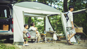 コールマンが提案するコンビニエンスキャンプとは?1幕2役のシェード&テント2つを発売