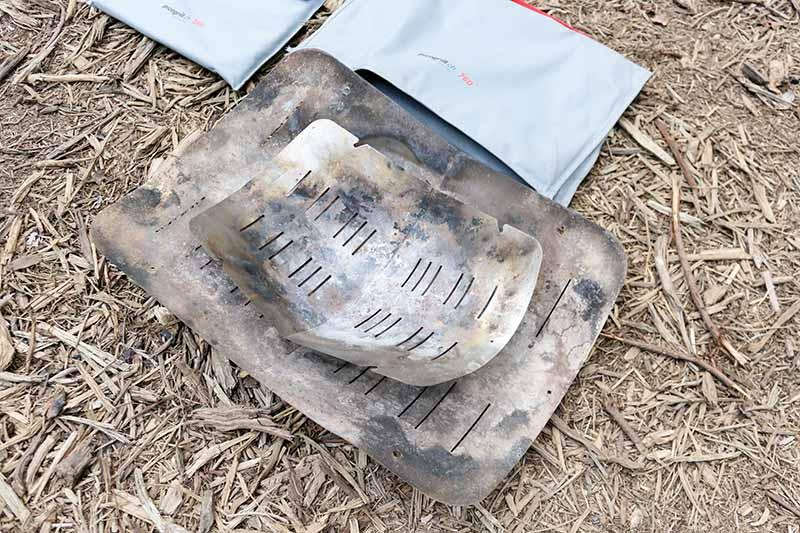 ピコグリル398とピコグリル760の火床を重ねて比較